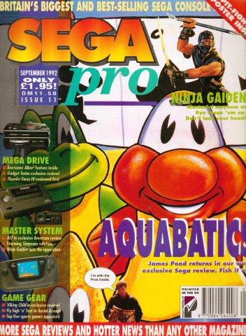 Sega Pro 11 (September 1992)