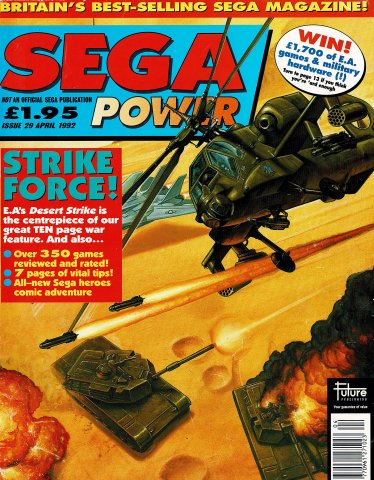 Sega Power Issue 29 (April 1992)