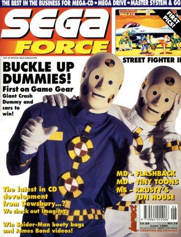 Sega Force 18 (June 1993)
