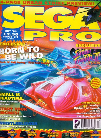 Sega Pro 34 (July 1994)