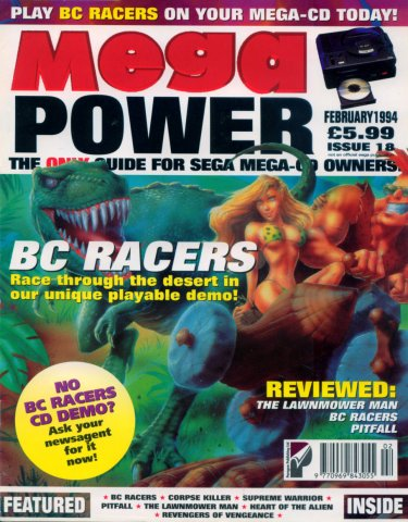 Mega Power 18 (February 1995)