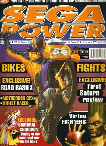 Sega Power Issue 63 (February 1995)
