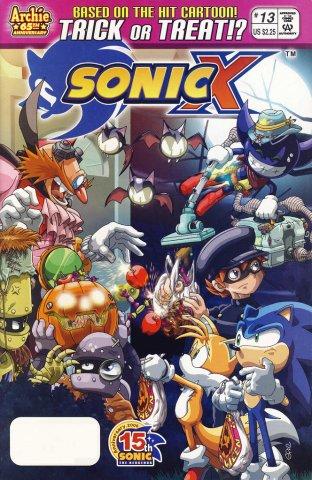 Sonic X 013 (December 2006)