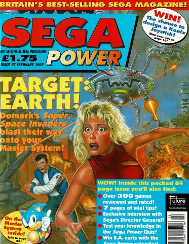 Sega Power Issue 27 (February 1992)