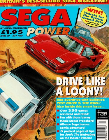 Sega Power Issue 30 (May 1992)