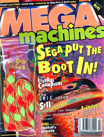 Mega Machines Issue 03 (February 1994)