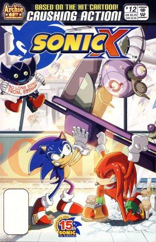 Sonic X 012 (November 2006)