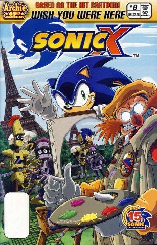 Sonic X 008 (July 2006)