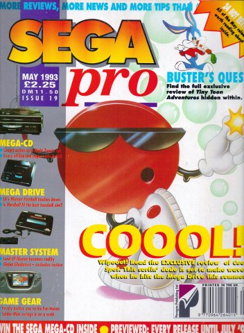 Sega Pro 19 (May 1993)