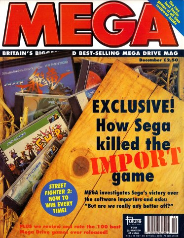 MEGA Issue 15 (December 1993)