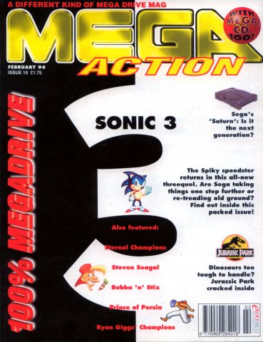 Mega Action 10 (February 1994)