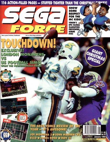Sega Force 13 (January 1993)