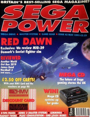 Sega Power Issue 42 (May 1993)