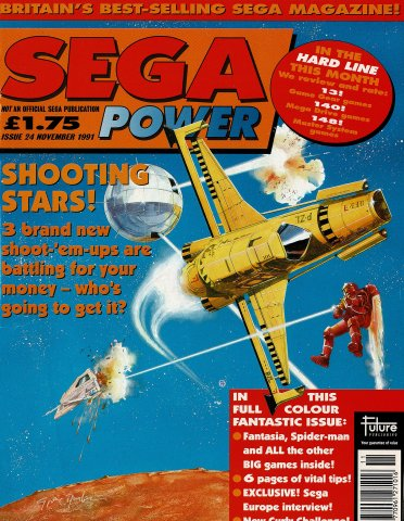 Sega Power Issue 24 (November 1991)