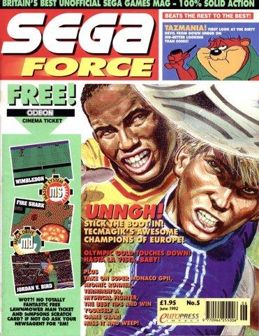 Sega Force 06 (June 1992)