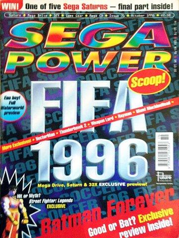 Sega Power Issue 71 (October 1995)