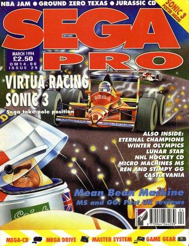 Sega Pro 29 (March 1994)