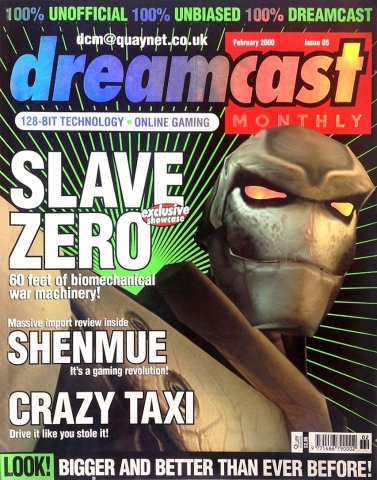 Dreamcast Monthly Issue 05 (February 2000)
