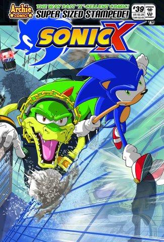 Sonic X 039 (January 2009)