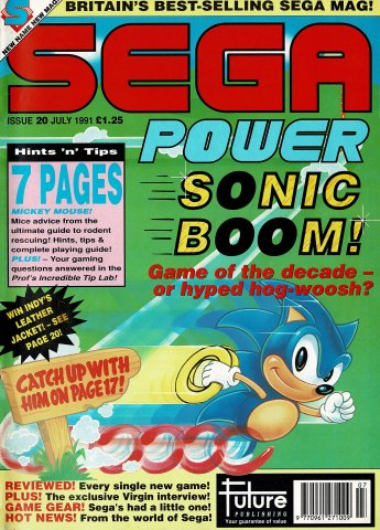 Sega Power Issue 20 (July 1991)