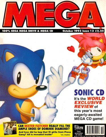 MEGA Issue 13 (October 1993)