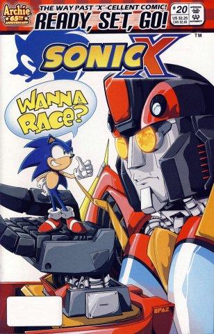 Sonic X 020 (July 2007)