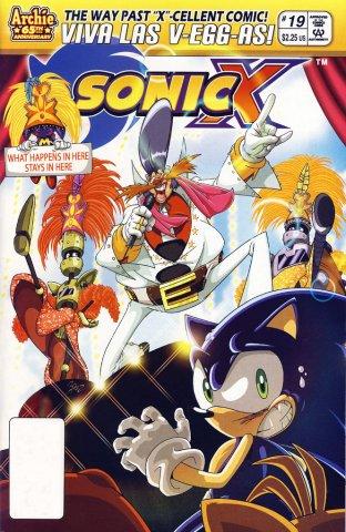 Sonic X 019 (June 2007)