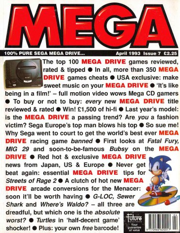 MEGA Issue 07 (April 1993)