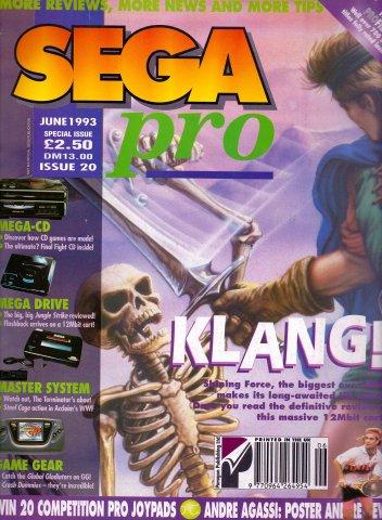 Sega Pro 20 (June 1993)