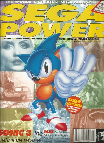 Sega Power Issue 52 (March 1994)