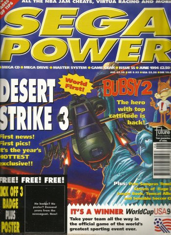Sega Power Issue 55 (June 1994)