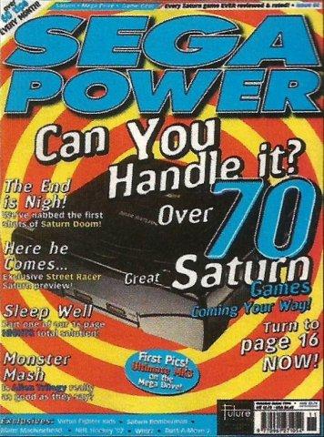 Sega Power Issue 84 (October 1996)
