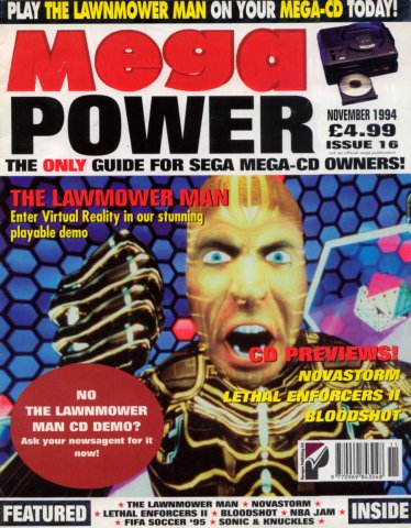 Mega Power 16 (November 1994)