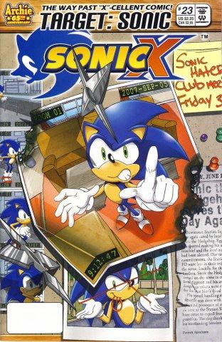 Sonic X 023 (September 2007)