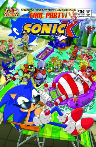 Sonic X 034 (August 2008)