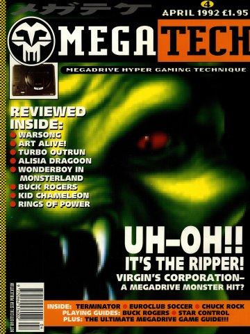 MegaTech 04 (April 1992)