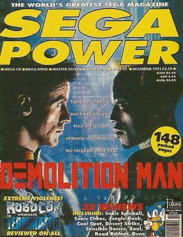 Sega Power Issue 49 (December 1993)