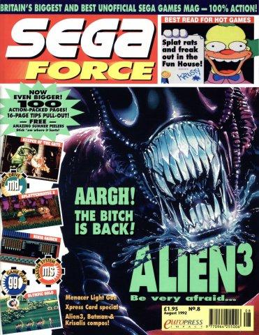Sega Force 08 (August 1992)