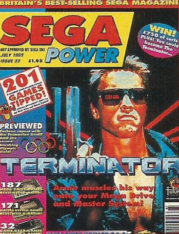 Sega Power Issue 32 (July 1992)