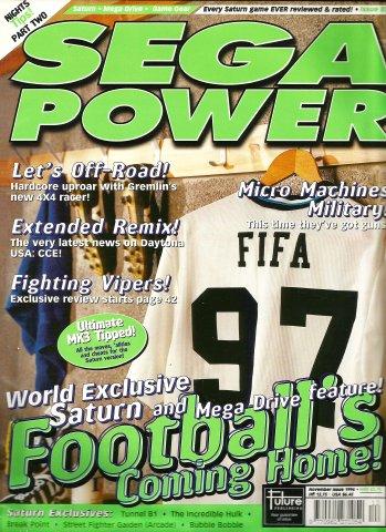 Sega Power Issue 85 (November 1996)