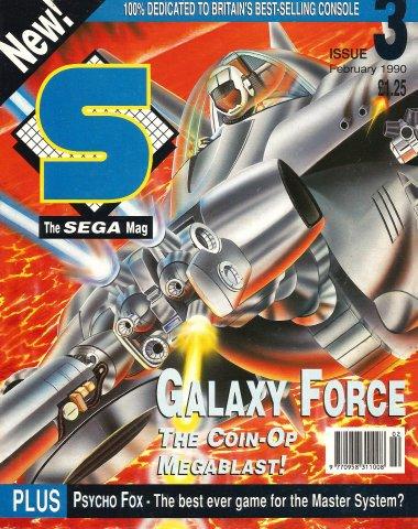 S: The Sega Magazine Issue 03 (February 1990)