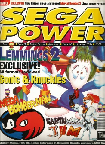 Sega Power Issue 60 (November 1994)