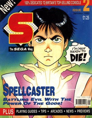 S: The Sega Magazine Issue 02 (January 1990)