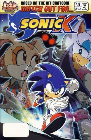 Sonic X 003 (January 2006)