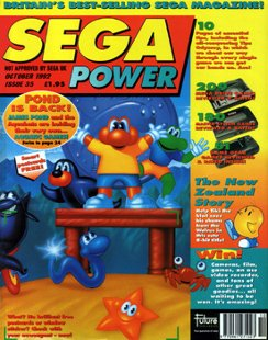 Sega Power Issue 35 (October 1992)
