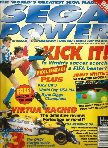 Sega Power Issue 54 (May 1994)