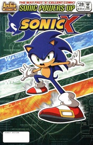 Sonic X 028 (February 2008)