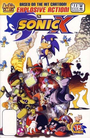 Sonic X 011 (September 2006)