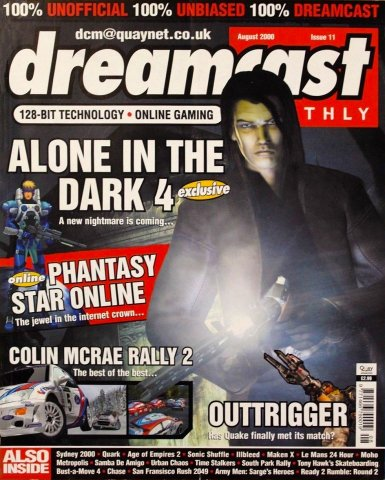 Dreamcast Monthly Issue 11 (August 2000)
