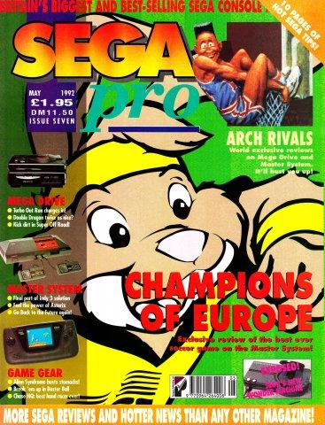 SEGA Pro 07 (May 1992)